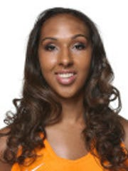 Mercedes Russell of the Tennessee Lady Vols.