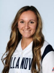 Spanish Springs graduate Brette Lawrence tossed a perfect game Sunday and was named the Big East Conference Pitcher of the Week.