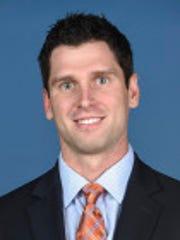 Jordan VerHulst, Auburn's special assistant to the