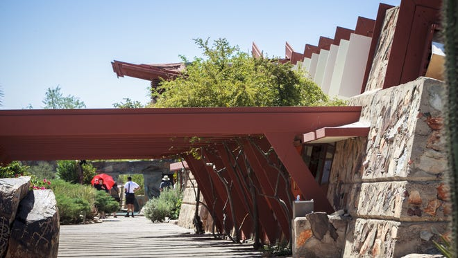 Students pursue master's degrees at the Frank Lloyd Wright School of Architecture.