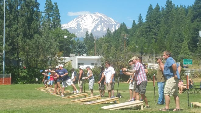 A cornhole tournament is one of the highlights of the State of Jefferson Brewfest in Dunsmuir to be held this weekend.