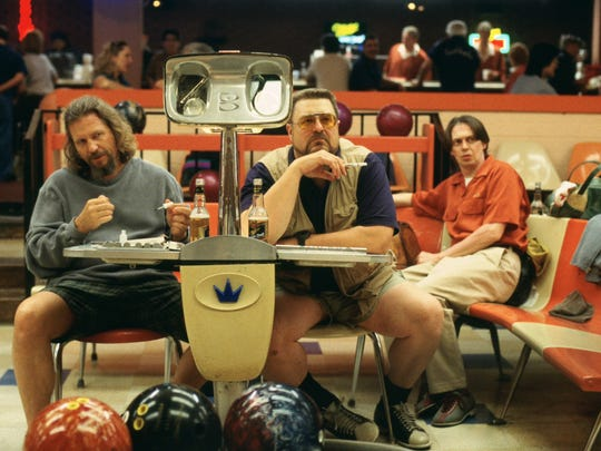 "Jeff Bridges, John Goodman and Steve Buscemi in the 1998 film ""The Big Lebowski,"" which will be screened Aug. 5 and 8 in South Burlington."