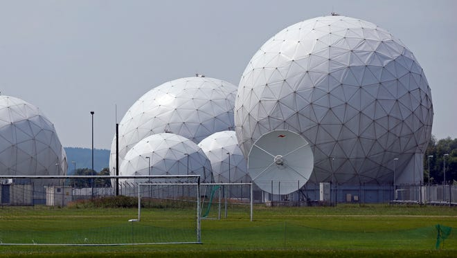 The July 8, 2013 file picture shows the BND monitoring base in Bad Aibling, near Munich, Germany.