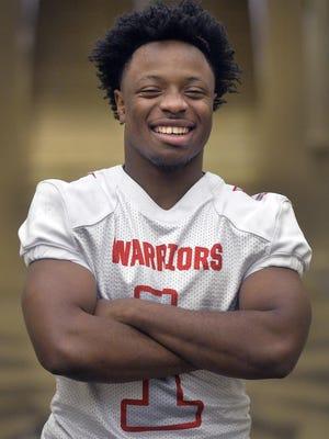 Jenkins High School's Damozzio Harris, the Savannah Morning News Football Player of the Year for 2019.