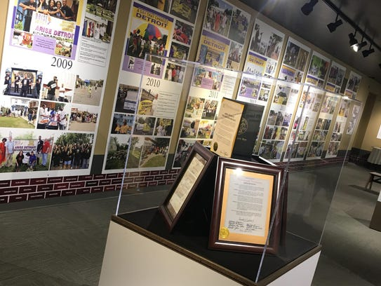 The ARISE Detroit! exhibit will be at the Detroit Historical