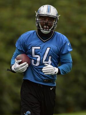 Detroit Lions linebacker DeAndre Levy