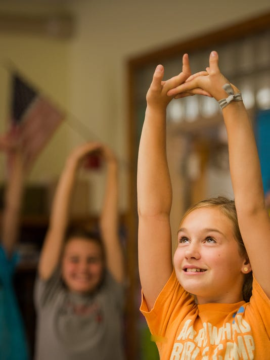 Yoga has benefits for kids