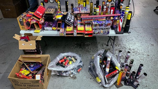 Eugene Police confiscated 235 pounds of illegal fireworks over the 2020 Independence Day weekend and gave it to the Metro Explosives Disposal Unit. No citations were issued to people in possession of illegal fireworks.