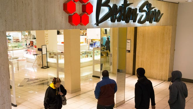 Bon-Ton, the parent company of Boston Store, Younkers and other department stores, filed for Chapter 11 bankruptcy protection on Feb. 4.
