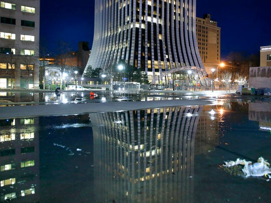 The Metropolitan (former Chase Tower) in downtown Rochester
