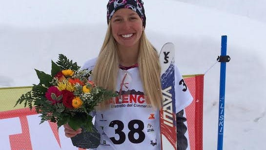 Winter Vinecki took 5th place at the 2014 Junior World Freestyle Championships aerials in Valmalenco Italy.
