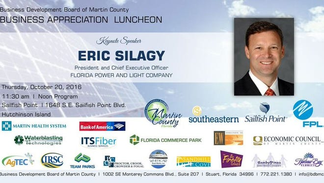 Eric Silagy will speak at the luncheon.