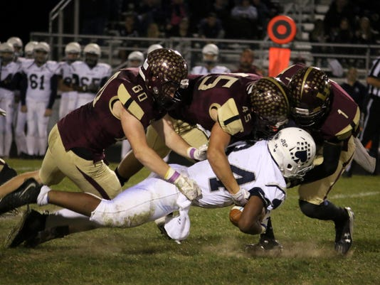 Licking Heights 41, Granville 7