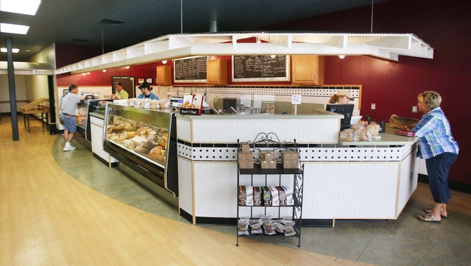 Here is a look inside the new Moody's Butcher Shop in Greenwood, on June 2, 2014.