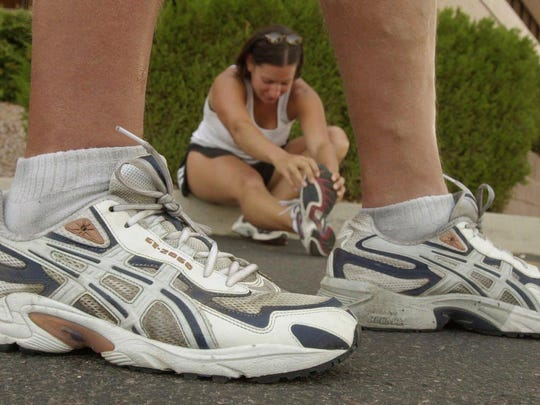 Experts agree that proper athletic shoes are crucial to a healthy workout.