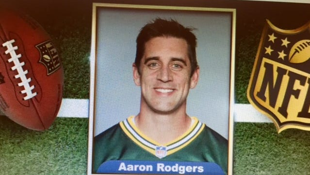 """Green Bay Packers quarterback Aaron Rodgers read his own superlatives on Thursday's """"The Tonight Show with Jimmy Fallon."""""""