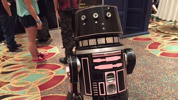 This droid turned heads at the 2015 Space Coast Comic