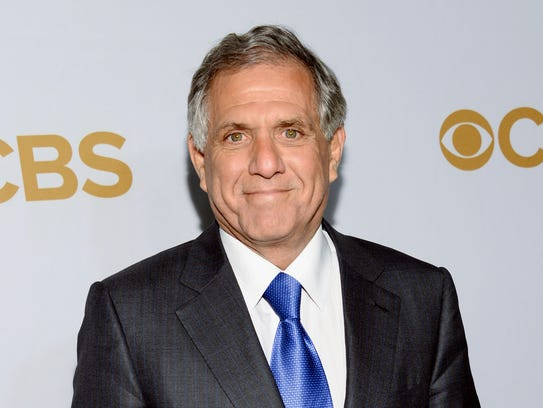 CBS president Leslie Moonves attends the CBS Network