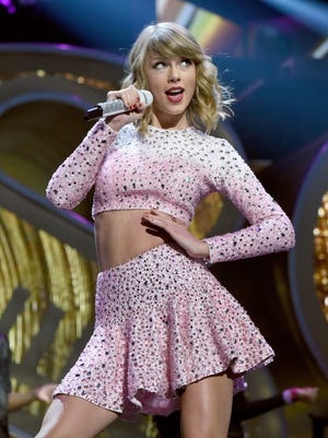 """Taylor Swift will bring her """"1989"""" World Tour to Wells Fargo Arena in Des Moines on Oct. 8."""