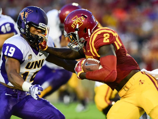 NCAA FOOTBALL: SEP 03 Northern Iowa at Iowa State