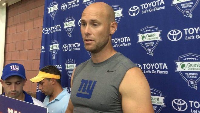 Giants kicker Josh Bown