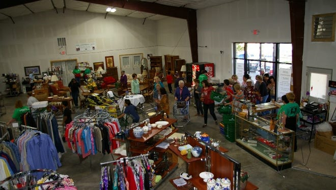 The annual anniversary sale at the Humane Society of Lincoln County Resale Shop brought in close to $4,000 to help the local animal shelter.