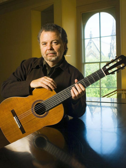 Internationlly known guitarist Manuel Barrueco will perform for the public May 15 in the Frank Center Theater at Shepherd University's first International Guitar Festival.