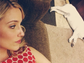 Another bulldog owner, Dianna Agron, and her pup, Freddie, lounged around in this Instagram post.