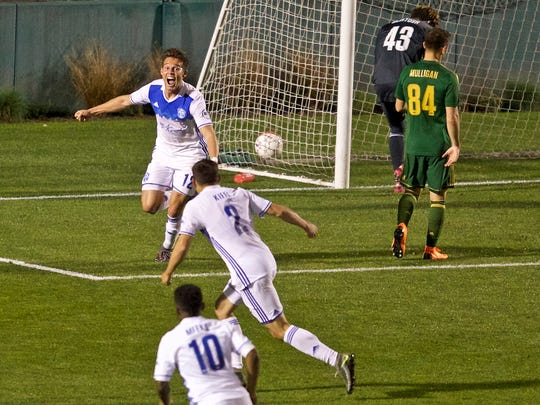 Reno 1868 FC hosts Real Monarchs SLC on Tuesday night at Greater Nevada Field.