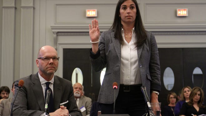 In her testimony to lawmakers, Christina Renna depicted herself as an enthusiastic public servant. She described the office as a '99 percent' good government operation, but in interviews with Christie-hired lawyers investigating the bridge lane closings, Renna also suggested that retaliation was standard operating procedure.