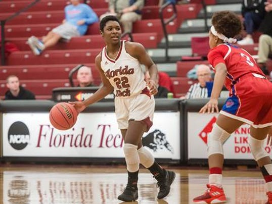 DeLise Williams, No. 22, senior guard, Florida Tech women's basketball.