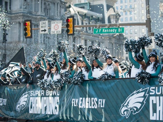 Eagles Super Bowl LII victory parade