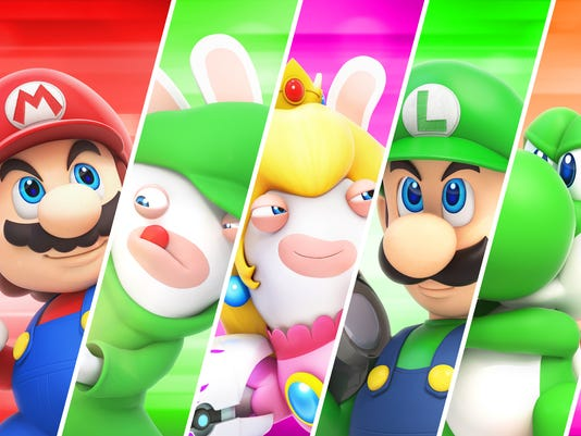 Mario + Rabbids Kingdom Battle, Nintendo Switch.