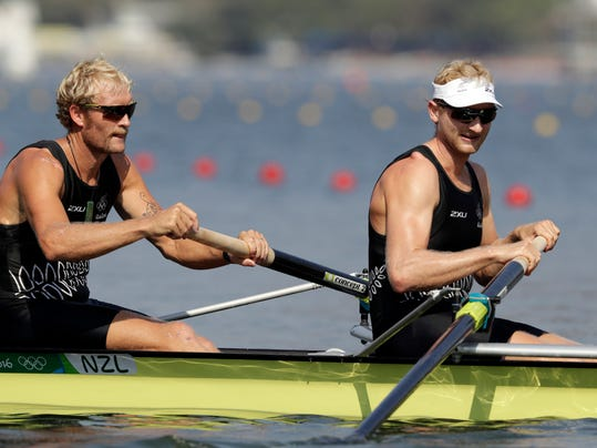 Murray and Bond, the Kiwi rowing pair that never lose a race