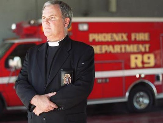 Phoenix Fire Department Chaplain dies
