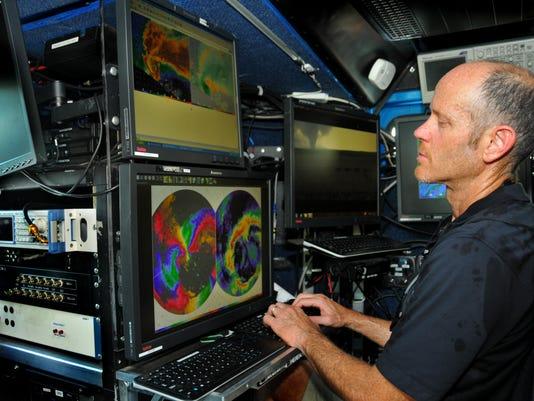 Mobile Doppler radar