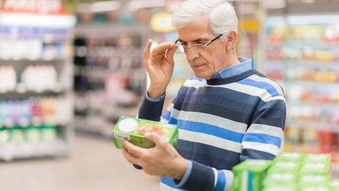 Scandit, a European company, says its technology that allows shoppers to use their smart phones to scan shelves for products that are low calorie or gluten free should be at a U.S. supermarket by year's end.