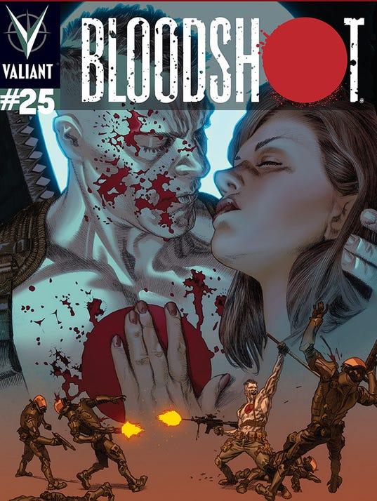 Bloodshot 25 cover