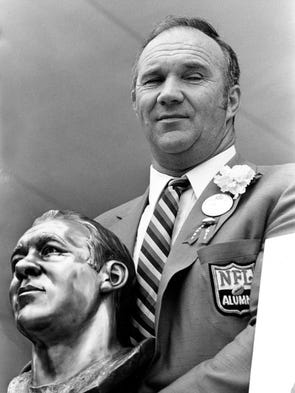 Doug Atkins, who played defensive line for the Browns,