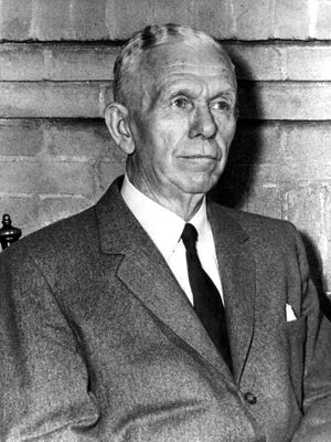 George C. Marshall in 1955.