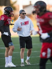 Southern Utah University assistant coach Tommy Collet