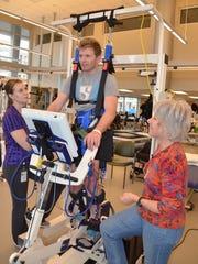 Feb. 6: Harris continues to improve at Craig Hospital in Denver.