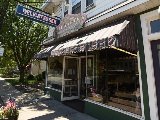 Stewart's Deli in Hawthorne, NJ on Thursday May 24,
