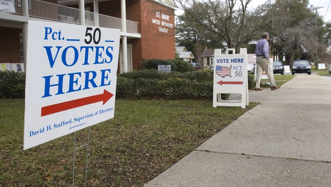 Early voting is underway in Santa Rosa County and begins Saturday in Escambia County.