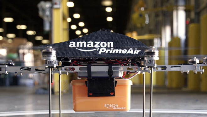 Amazon via APAmazon says that its goal is to use drones to deliver packages to customers in 30 minutes or less.