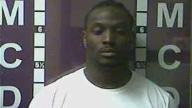 Mug shot of Bengals fullback Orson Charles from Madison County (Ky.) Detention Center