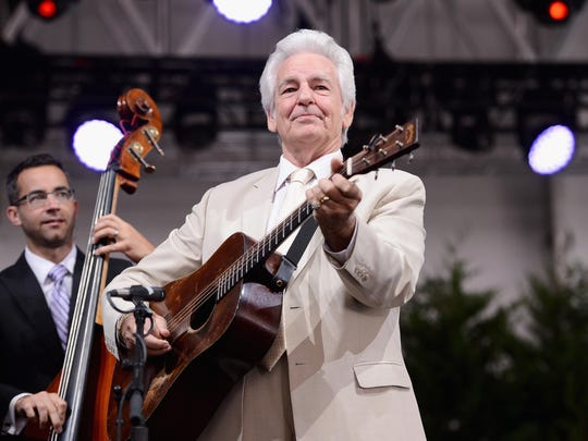The Del McCoury Band will be among the headliners at the Grey Fox Bluegrass Festival in Oak Hill.