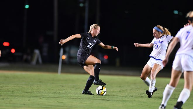Melbourne High graduate and UCF senior Hannah DeBose is part of a UCF women's soccer team ranked No. 6 in the nation.