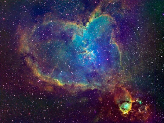 636505875375410198-Heart-Nebula - Astronomical highlights of 2018 - Science and Research