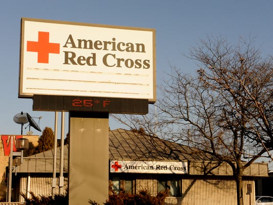 American Red Cross sign and building 2